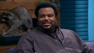 Craig Robinson Wears a Bordeaux Button Down & Dark Jeans