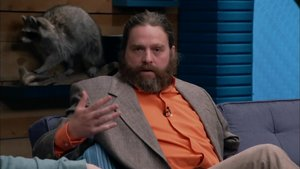 Zach Galifianakis Wears a One-Armed Jacket