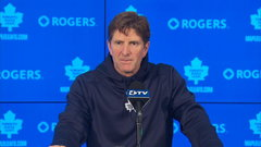 Maple Leafs searching for offence