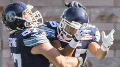 Argonauts hold on to down Alouettes