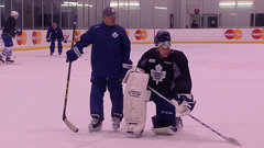 Bernier, Reimer stay late at practice to work on struggles