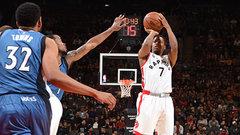 NBA: Timberwolves 107, Raptors 112