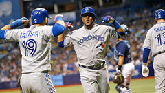 Bats will come alive in Jays/Rangers series