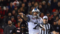 Harris' dominant performance lifts Argos