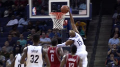 Ford Must See: Carter's dunk rejected by rim