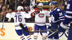 NHL: Canadiens 3, Maple Leafs 1