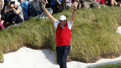 Ford Must See: Mickelson drains perfect bunker shot