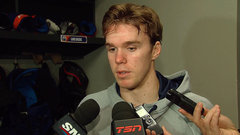McDavid: ''I feel more relaxed today''