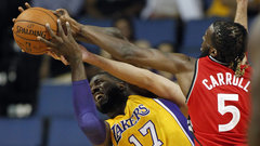 NBA: Raptors 105, Lakers 97