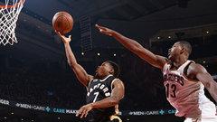 NBA: Cavaliers 99, Raptors 103