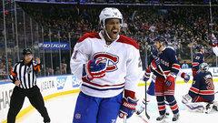 NHL: Canadiens 5, Rangers 1