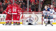 NHL: Oilers 3, Red Wings 4 (OT)