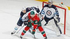 Hellebuyck wins in NHL debut