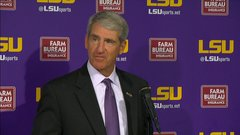 Alleva: 'Les Miles is our football coach'
