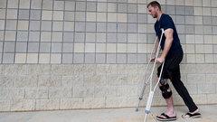 Sprinkler accident sidelines Saunders
