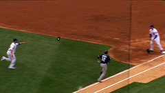 Must See: Lester throws his glove to first