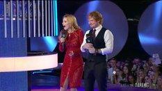 Ed Sheeran and Bella Thorne