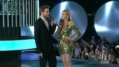 Liz and Adam Lambert