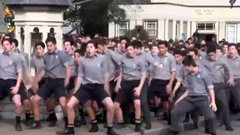 Must See: Students perform powerful Haka at teacher's funeral