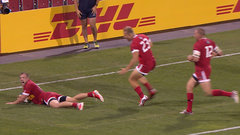 Must See: Mackenzie pulls off late try