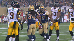 CFL Must See: Cotton hurdles over Sears