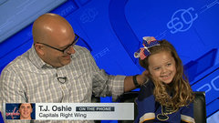 Must See: Oshie surprises heartbroken 5-year-old fan