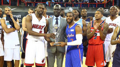 Team World wins first NBA game in Africa
