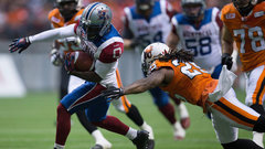Running game gives Alouettes offensive boost