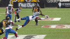 CFL Must See: Hebert makes diving pick to seal Als' win