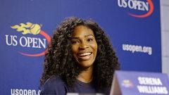 Serena not feeling the pressure