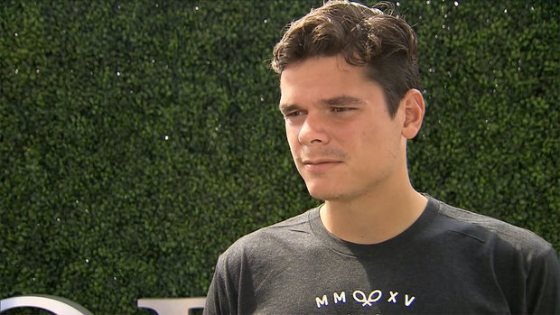 Raonic: ''I'm as healthy as I can be''