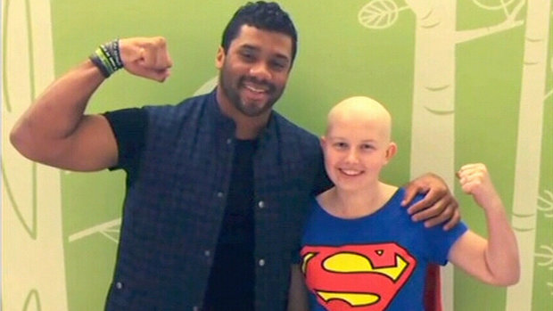 Russell Wilson: Strong Against Cancer