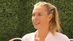 Sharapova explains challenges heading into US Open