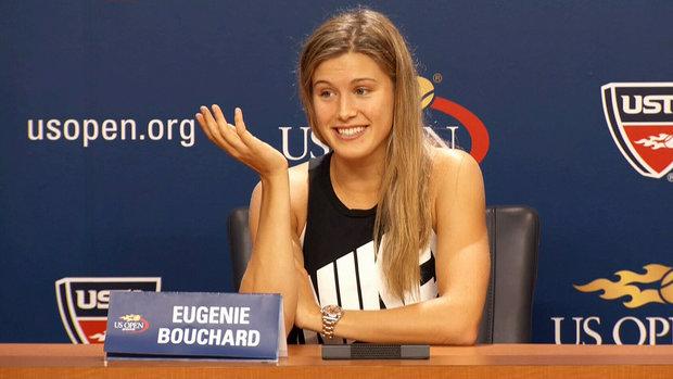 Bouchard on win, harsh media coverage