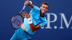 Pospisil limps out in first round