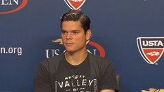 Raonic content to get first round jitters out of the way