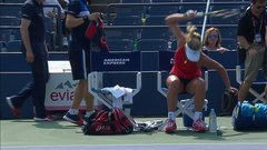 Must See: CoCo's racket rage