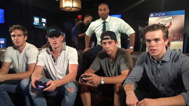 Cabbie Presents: NHL rookies rock NHL 16