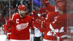 NHL: Senators 1, Red Wings 3