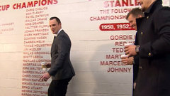 Must See: Karlsson, Methot playfully chirp Phaneuf during arrival