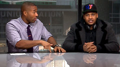 Cabbie catches up with Carmelo