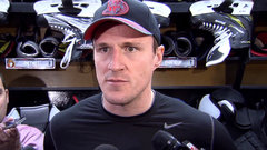 Phaneuf excited to play in front of the home crowd tonight