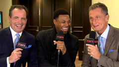 Lowry jokes about his status as All-Star vet
