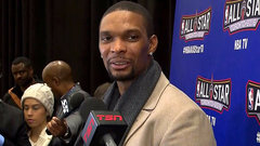 Bosh talks about coming back to Toronto