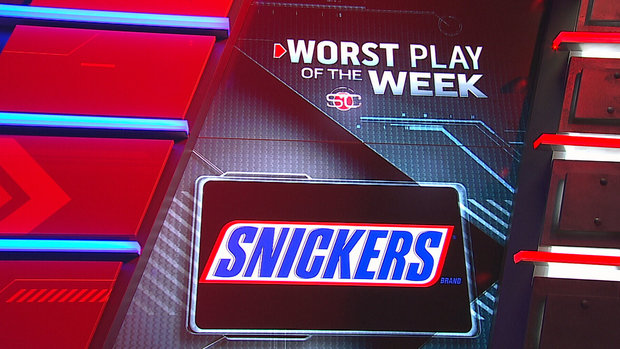 Snickers Worst Play of the Week
