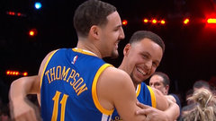 Must See: Klay Thompson wins three point contest