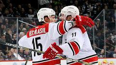 NHL: Hurricanes 5, Jets 3