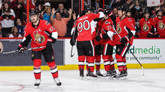 NHL: Maple Leafs 1, Senators 6