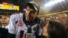 Manning mum on retirement after Super Bowl triumph