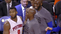 Must See: Drummond nails full-court buzzer-beater